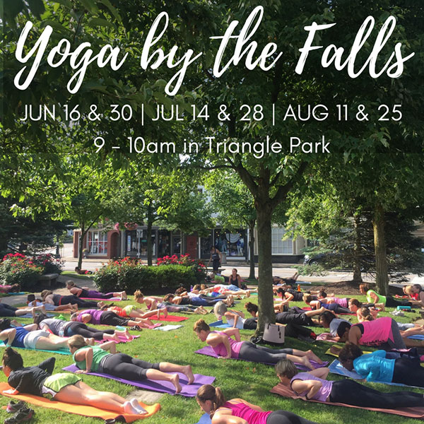 Yoga by the Falls